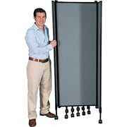 "Balt ® Best-Rite GreatDivide Wall System Fabric Starter Set, Gray, 96''H x 8' 1""W x 30""D"