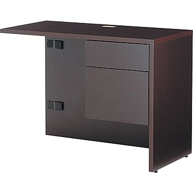 Global® Genoa™ in.Lin. Workstation Return, Right, 29in.H x 40in.W x 20in.D, Dark Espresso