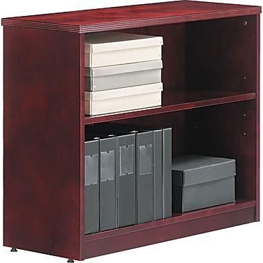 Alera™ Verona Veneer Bookcase, 29 1/2in.H x 35 1/2in.W x 14in.D, Mahogany