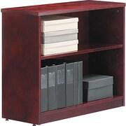 Alera™ Verona Veneer Bookcase, 29 1/2H x 35 1/2W x 14D, Mahogany