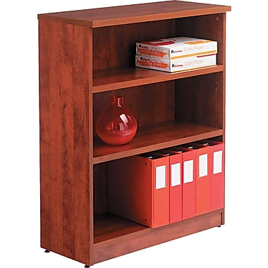 Alera™ Valencia Bookcase Storage System, 39 3/8in.H x 31 3/4in.W x 12 1/2in.D, Medium Cherry
