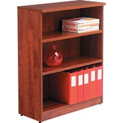 "Alera™ Valencia Bookcase Storage System, 39 3/8""H x 31 3/4""W x 12 1/2""D, Medium Cherry"