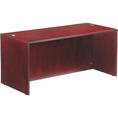 Straight Front Desk Shell, 29 1/2in.H x 66in.W x 29 1/2in.D