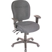 Alera Wrigley Series Multifunction Seating, 100% Polyester, General Office, Charcoal