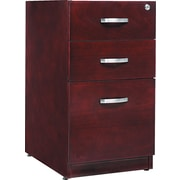 Alera™ Verona Veneer Pedestal File Cabinet With 1 Drawer, 28 1/2H x 15 1/4W, Mahogany