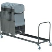 "Iceberg ® 8' Folding Chair Cart, Black, 20 1/2""H x 8'D"