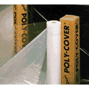POLY-COVER® Warp's® Brothers 100 Feet (L) Clear Poly-Cover Plastic Sheet, 20 Feet (W) x 4 mm (T)