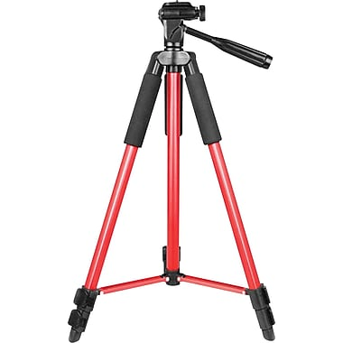 Bower Trendy Tripod Series 59in. Tripod, Red