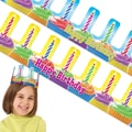 Scholastic Birthday Cupcake Crowns