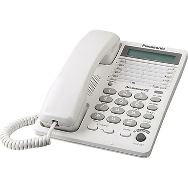 Panasonic KXTS108W Single Line Telephone