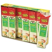 Keebler Sandwich Cracker, Club & Cheddar, 8-Cracker Snack Pack, 12 Packs/Box