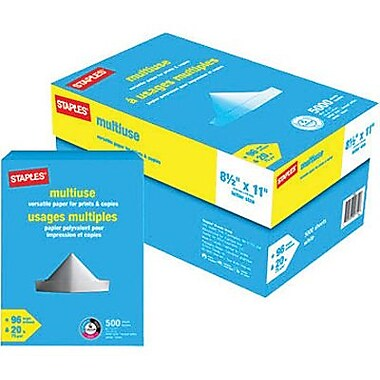 Staples® Multiuse Paper