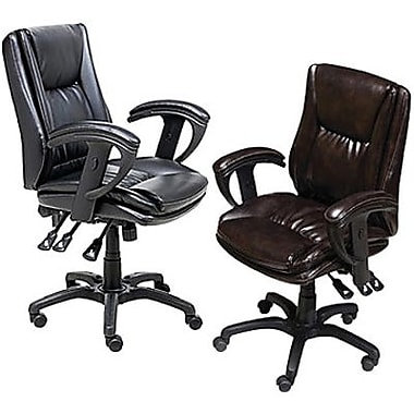 Staples® Multifunction Bonded-Leather Chairs