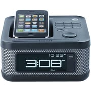 Memorex Clock Radio Mini Alarm for iPod, Black