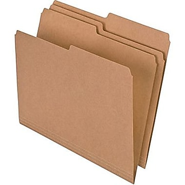 Pendaflex® Essentials™ Natural File Folder, 1/2-Cut, Letter Size, Manila