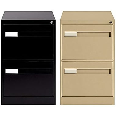 Global 2800 Series Premium Vertical Legal File Cabinets 2 Drawer