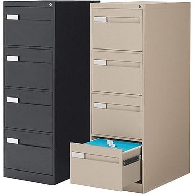 Global® - Classeurs verticaux de série Premium 2800, format légal, 4 tiroirs