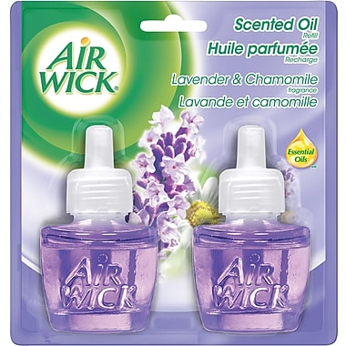 Air Wick® Scented Oil Warmer Refill, Lavender & Chamomile, 2/Pack