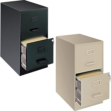 Hirsh 22 deep vertical letter file cabinets 2 drawer for 22 deep kitchen cabinets