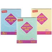 Domtar - Papier à copies recyclé à 30 %, couleurs pastel, 20 lb, registre, 11