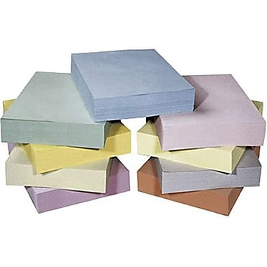 30% Recycled Pastel Coloured Copy Paper, 20 lb., Legal, 8-1/2