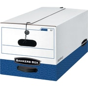 Bankers Box® Liberty® Heavy-Duty Storage Boxes, Legal Size