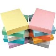 Staples® - Papier à copies recyclé 30 %, couleurs pastel, 8 1/2 po x 11 po, b