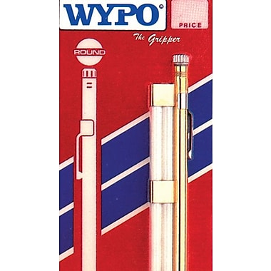WYPO Stainless Steel Round Pocket Clip SP Soapstone Holder, 5 in (L) x 1/4 in (Dia)
