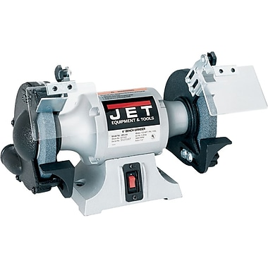 Jet® Cast Iron Wheel Guards 3450 rpm Industrial Bench Grinder, 8 in (Dia) Wheel