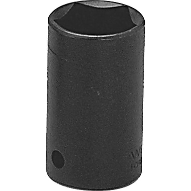 Wright Tool Black Alloy Steel Penta Socket, 2 in (L), 1/2 in Square Drive