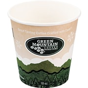 Green Mountain Coffee Roasters® Eco-Friendly Paper Hot Cup, 10 oz., 50/Pack