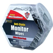 Dust-Off ® Antistatic Monitor Wipe - Office Share Pack, Unscented, 6(W) x 5(L)