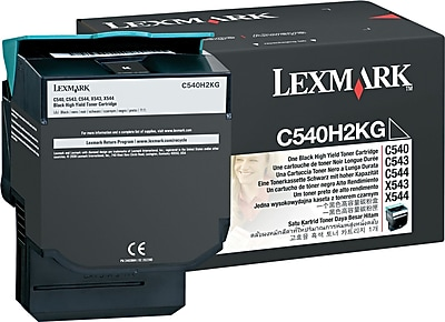 Lexmark Black Toner Cartridge C540H2KG High Yield