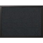 "MasterVision®  24""W x 18""H Designer Fabric Bulletin Board, Black Frame"