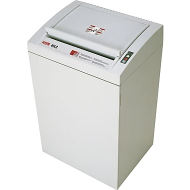 HSM of America 411.2 Continuous-Duty Shredder, 67 Sheet Capacity, 24 ft/min Speed