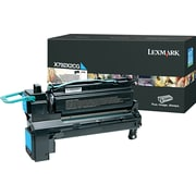 Lexmark Cyan Toner Cartridge (X792X2CG), Extra High Yield