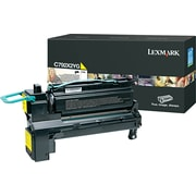 Lexmark C792 Yellow Toner Cartridge (C792X2YG), Extra High Yield