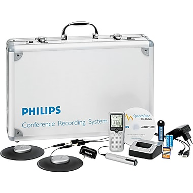 Philips® Pocket Memo 955 Conference Recording And Transcription System Kit