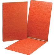 Top Opening Pressboard Report Cover, Prong Fastener, 11 x 17, Red