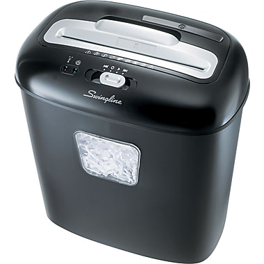 Swingline® EX10-05 Light-Duty Shredder, 10 Sheet Capacity, 10 ft/min Speed
