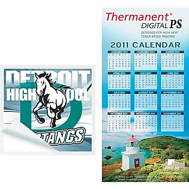 Nekoosa Thermanent® Digital PS, White, 8 1/2in.(W) x 11in.(L), 100/Ream