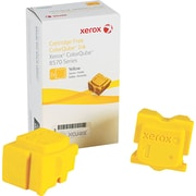 Xerox® 108R00928 Colour Qube Yellow Solid Ink Sticks, 2/Pack