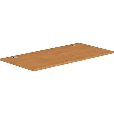 HON® Voi® Rectangular Worksurface, 60in.W x 30in.D, Harvest