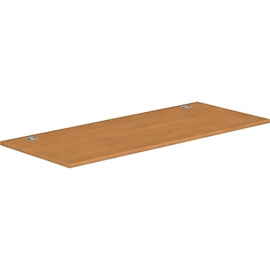 HON® Voi® Rectangular Worksurface, 72in.W x 30in.D, Harvest