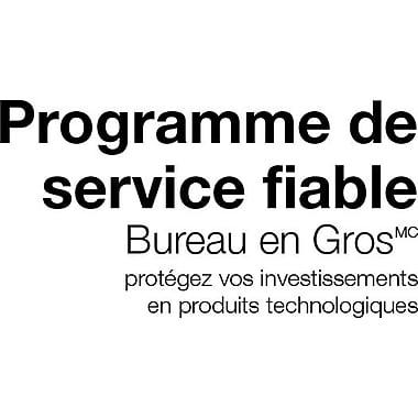 Staples® – Plan de réparation de 2 ans du Programme de service fiable pour déchiqueteurs de plus de 500 $