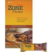 Zone Perfect® Chocolate Peanut Butter Bars, 1.76 oz. Bars, 12 Bars/Box