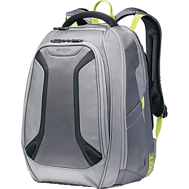 Samsonite Vizair Laptop Backpack, Gunmetal/Green