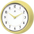 Infinity Instruments Home Essentials Retro, Aurora Solid Iron Wall Clock
