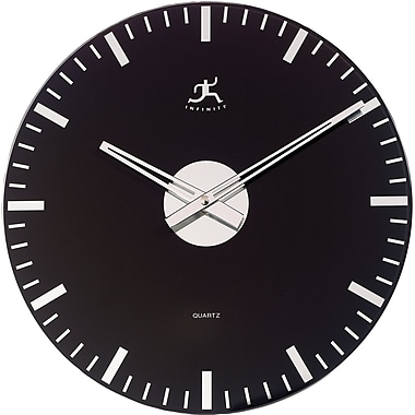 Infinity Instruments Black Knight Wall Clock