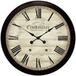 "Infinity Instruments 36"" Large Chester Clockmaker Traditional Wall Clock"